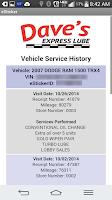 Screenshot of eSticker by Auto Data
