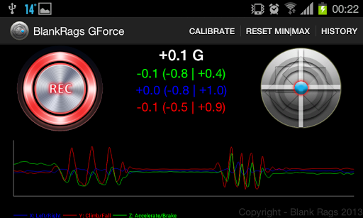 GForce Monitor