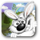 Curieux Lapin Live Wallpaper icon