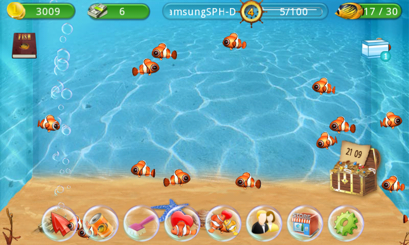 Fish live android apps on google play for Fish tank game