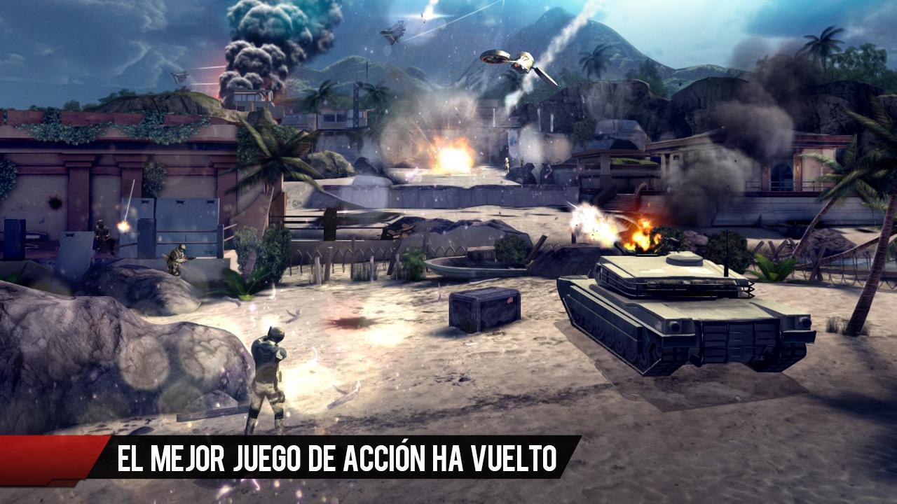 Modern Combat 4: Zero Hour v1.1.5 [Apk+Datos] [Android] [ZS