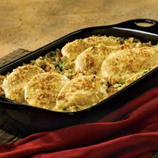 Broccoli Cheese Chicken and Stuffing.