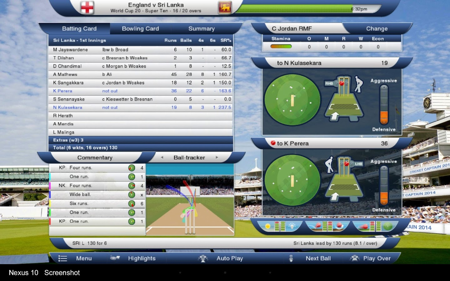 Cricket Captain 2014- screenshot