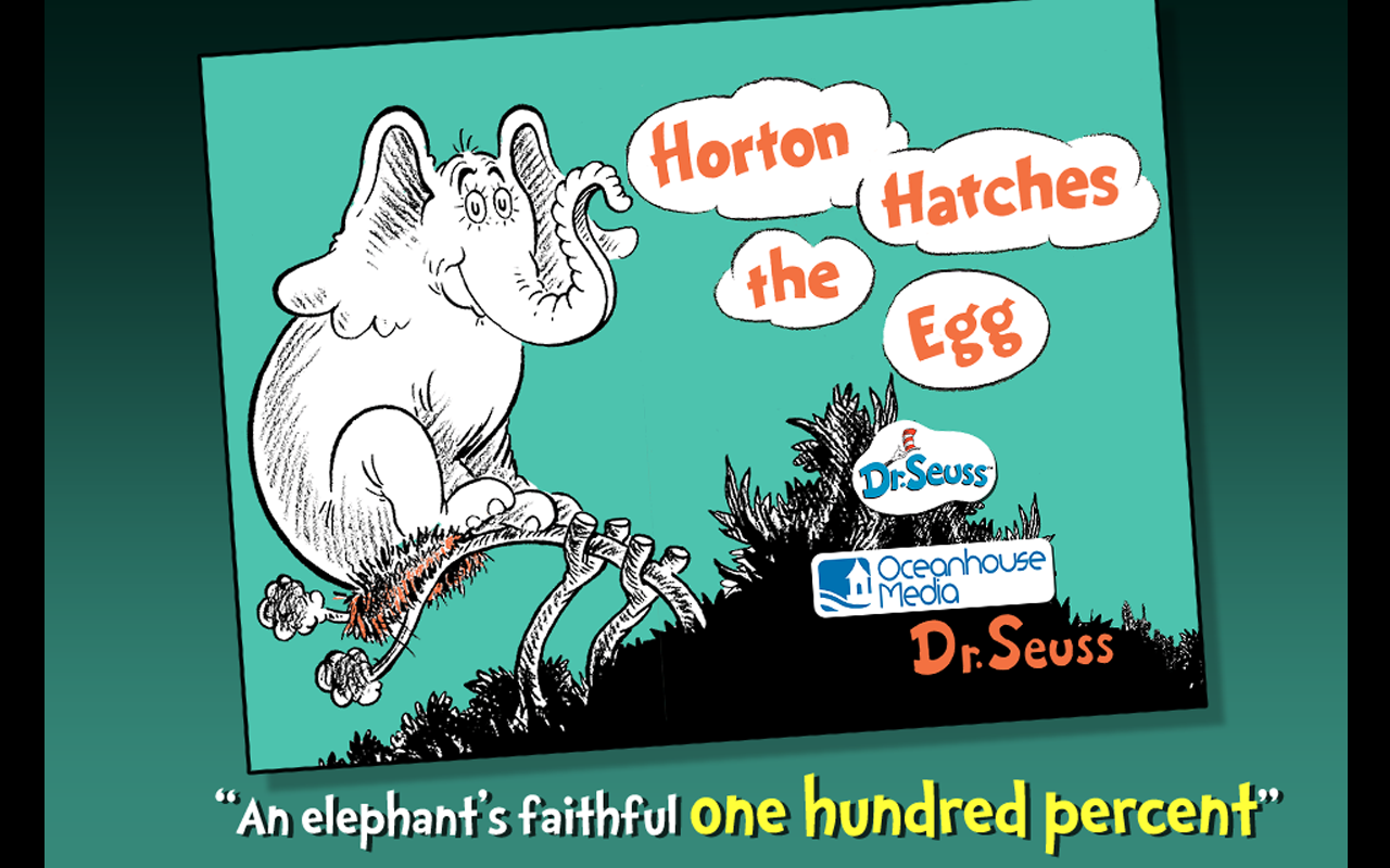 Horton Hatches the Egg - screenshot