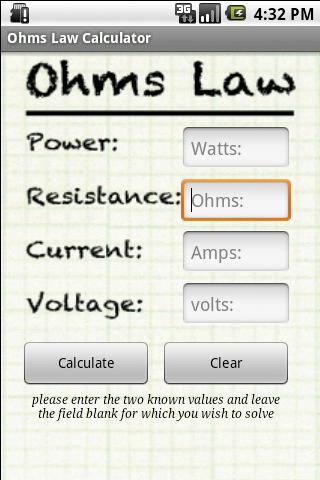 how to know what ohms to use