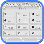 RocketDial Theme C Silver(HD)