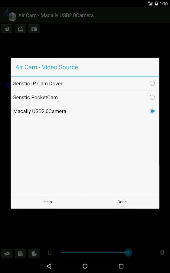 Air Cam Live Video- screenshot