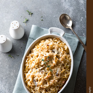 Paprika Chicken and Egg Noodle Casserole Recipe