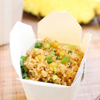 Easy Pineapple Fried Rice.