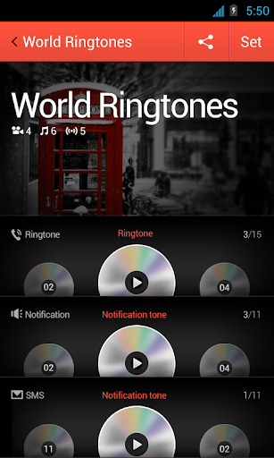 World Ringtones for dodol pop