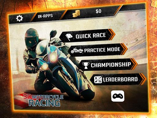 3D Motorcycle Racing Challenge