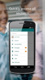 XING – Your business network - screenshot thumbnail