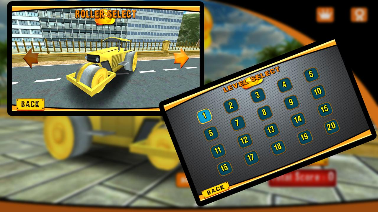 Road Roller Construction 3D- screenshot