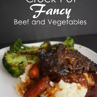 Crock Pot Fancy Beef for Two (or more)