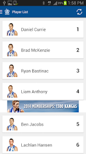 North Melbourne Official App - screenshot thumbnail
