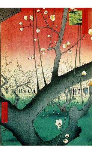 일본 미술 라이브 배경 화면