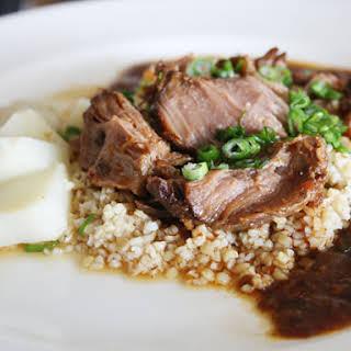 Sichuan Braised Pork Cheeks.