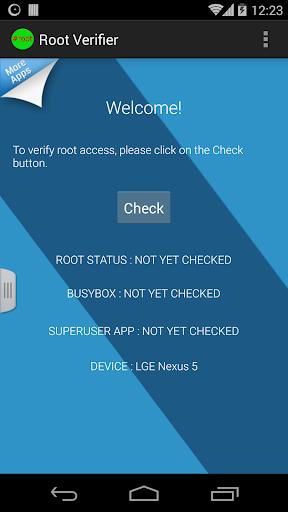 Root Verfier Checker