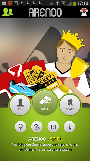 Arenoo – Die Fußball-FanApp