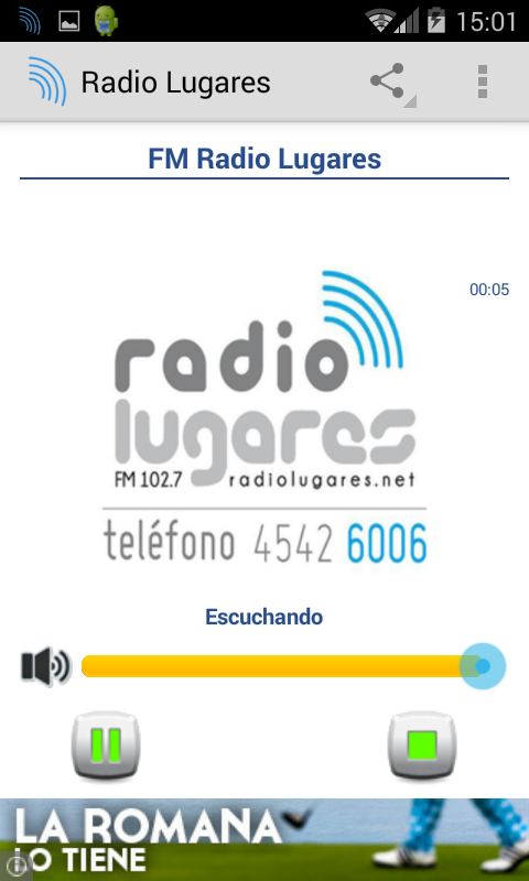 Radio Lugares Carmelo- screenshot
