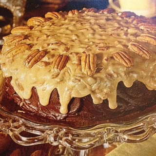 Chocolate-Praline Cake
