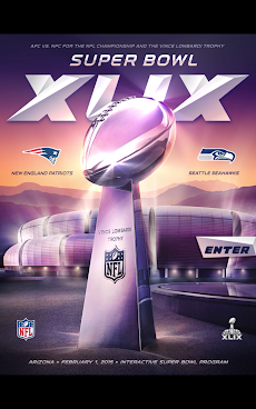 Super Bowl XLIX Game Programのおすすめ画像1