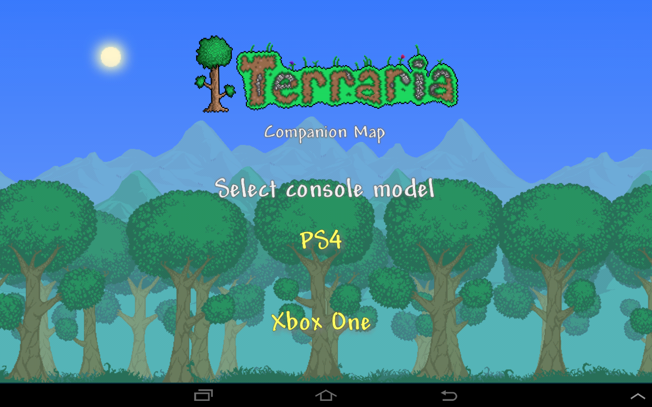 Terraria World Map- screenshot
