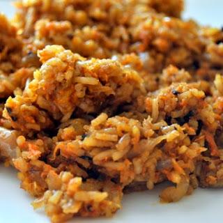 Plov (Uzbek Rice Pilaf)