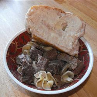 Slow Cooker Venison Stroganoff Recipe