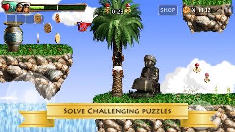 Babylonian Twins Platform Game Screenshot 4