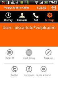 Voip LC Mobile Caller - screenshot thumbnail
