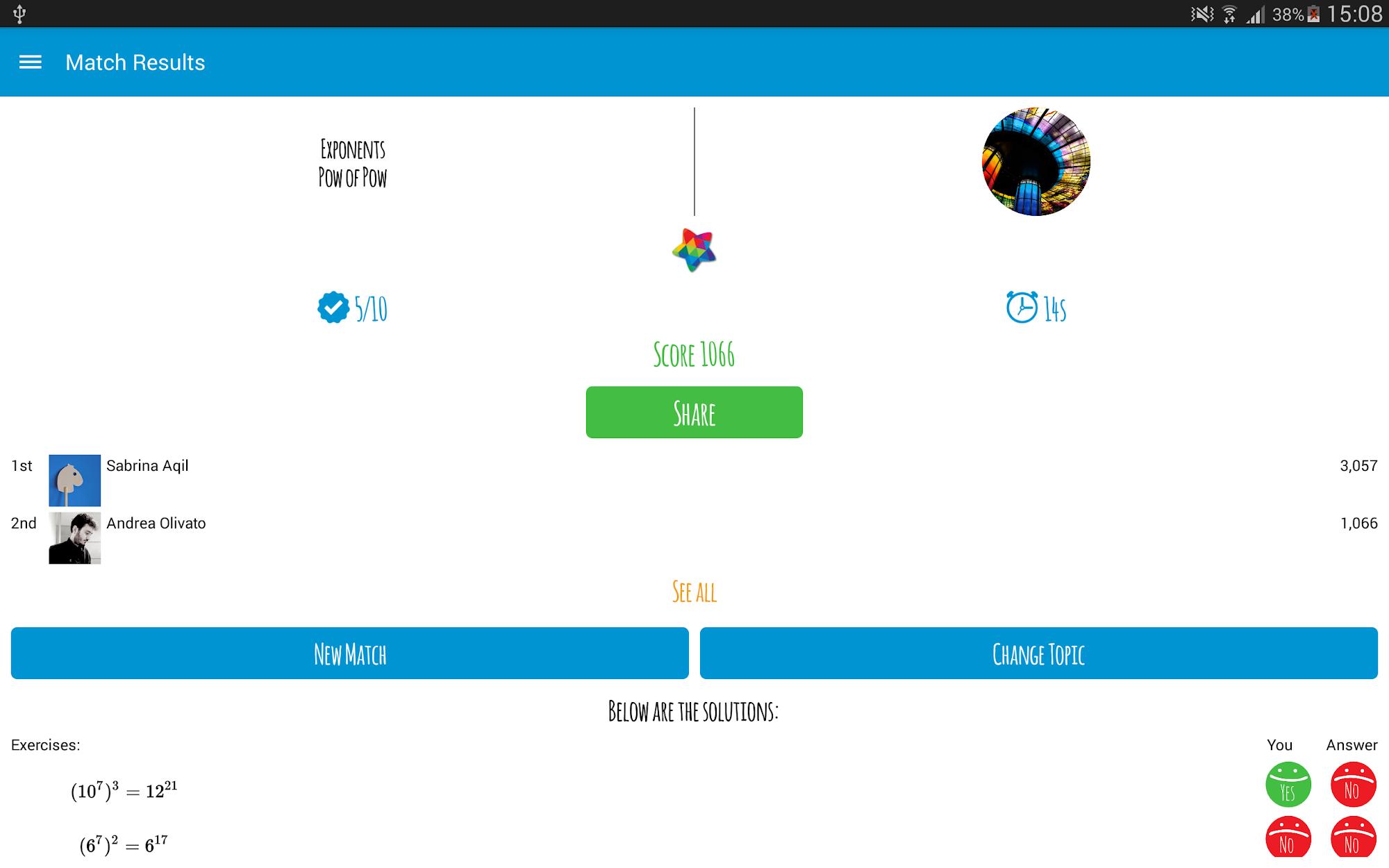 Maths Match screenshot #13