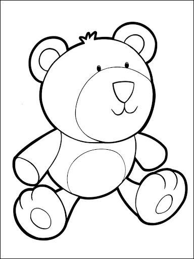 Coloring Book My Little Bear