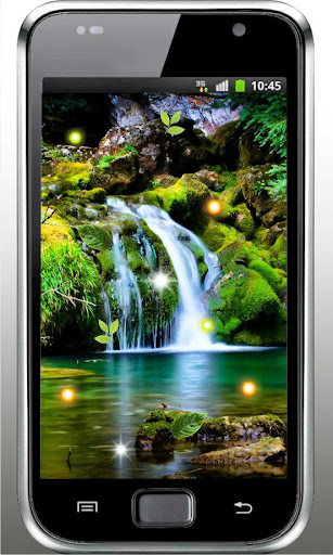 【免費個人化App】Waterfalls HD live wallpaper-APP點子