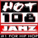 Hot 108 Jamz – #1 for Hip Hop logo