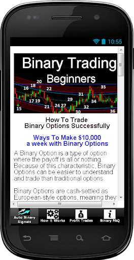Binary Trading Beginners