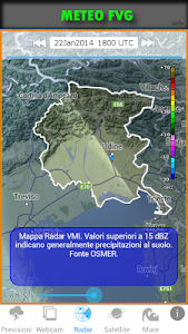 METEO FVG screenshot 3