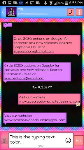 GO SMS - Clean 3