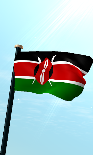 肯尼亞旗3D動態桌布