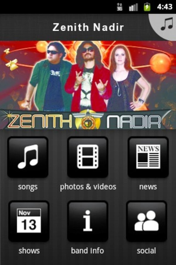 Zenith Nadir - screenshot