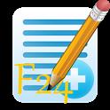 Modello F24 icon