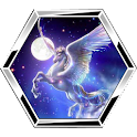 Astrological signs puzzle logo