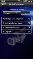 Screenshot of GlobalNewsMen