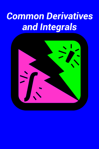 Integrals and derivatives