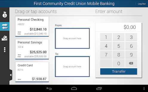 FCCU of ND Mobile Banking - screenshot thumbnail