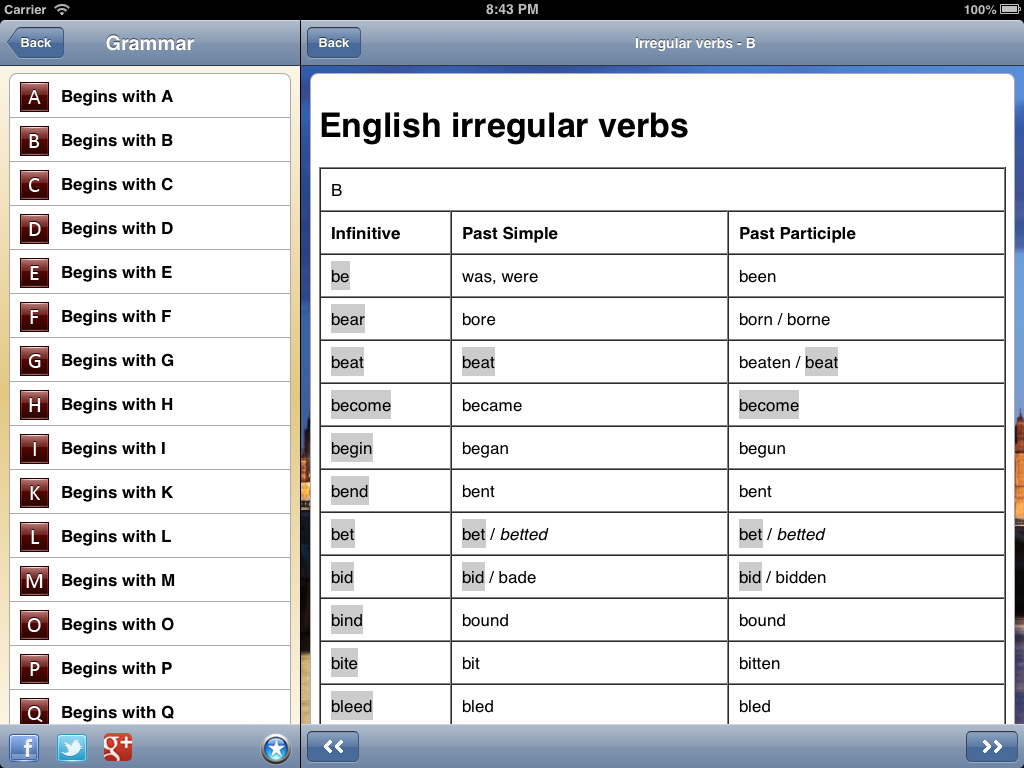 Learn English - Beelingo.com: captura de pantalla