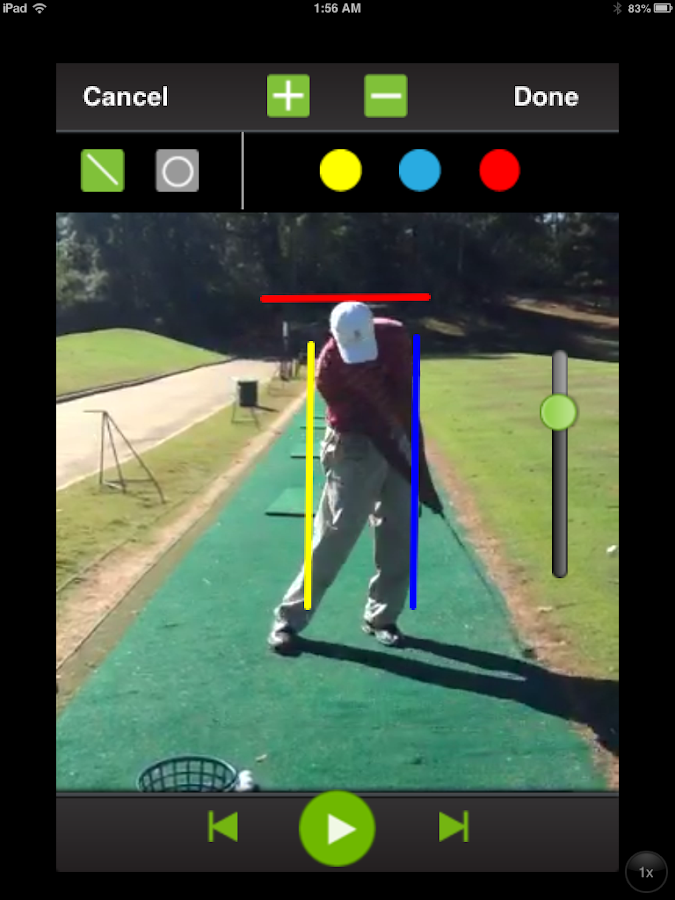 Free Golf Swing Analysis- screenshot
