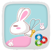 Rabbit GO Launcher Theme