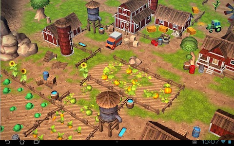 Cartoon Farm 3D Live Wallpaper screenshot 8