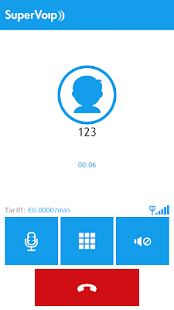SuperVoip - Cheap calls - screenshot thumbnail